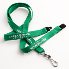 Care Compass Green Lanyards