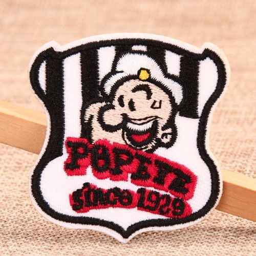 Popeye Custom Embroidered Patches