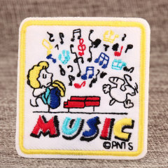 Music Custom Embroidered Patches