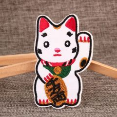 Lucky Cat Custom Patches
