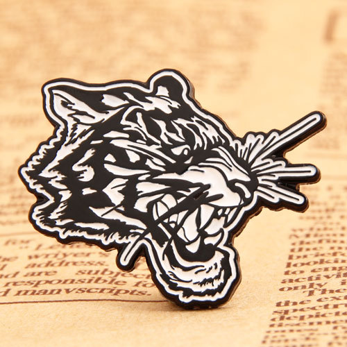 Tiger Head Custom Pins