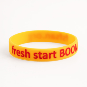 Fresh start BOOM Wristbands