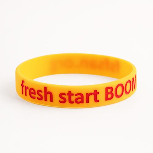 Fresh start BOOM Wristbands