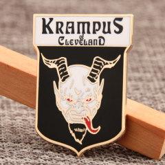 Krampus Enamel Pins