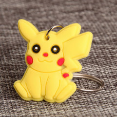 Pikachu PVC Keychain