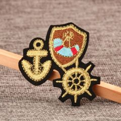 Pirate Ship Custom Patches
