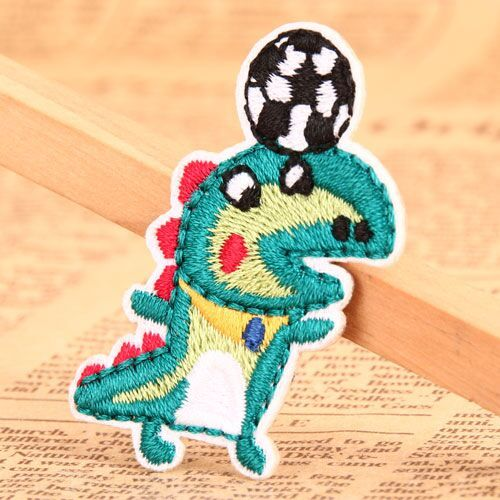 Dinosaur Embroidered Patches