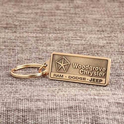 Woodgrove Chrysler Custom Keychains