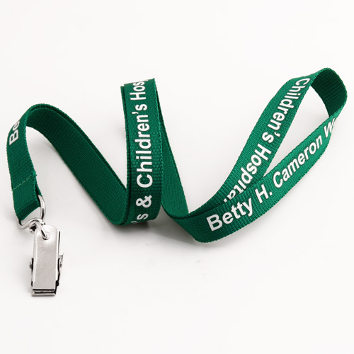 Betty H. Cameron Hospital Lanyards