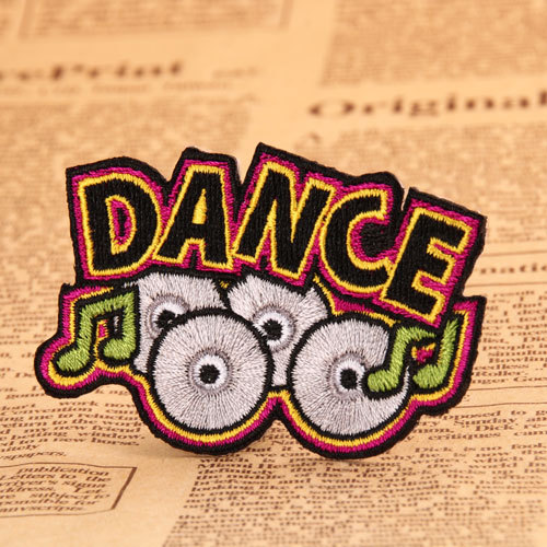Dance Embroidered Patches