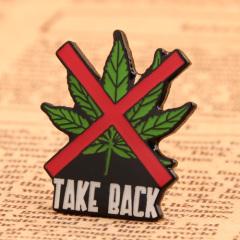 Take Back Custom Pins