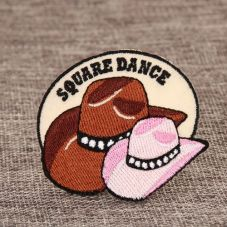 Square Dance Custom Patches