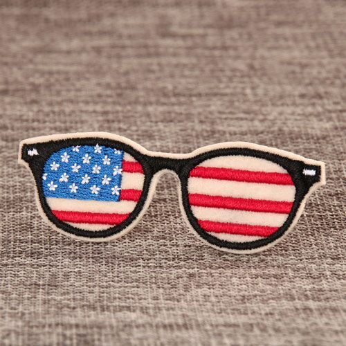 Cool Glasses Custom Patches