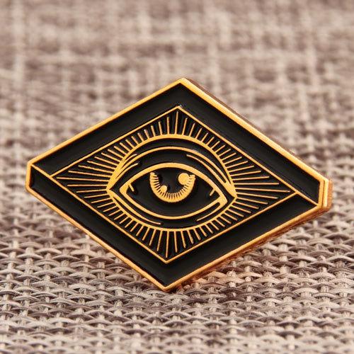 Glowing Eyes Custom Pins
