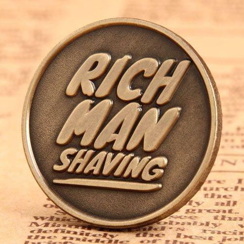 Shaving Custom Lapel Pins