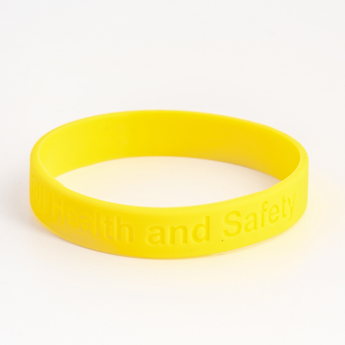 Health and Safety wristbands