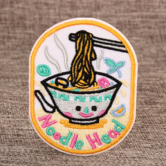 Noodle Cheap Custom Patches