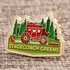 Stagecoach Greens Lapel Pins