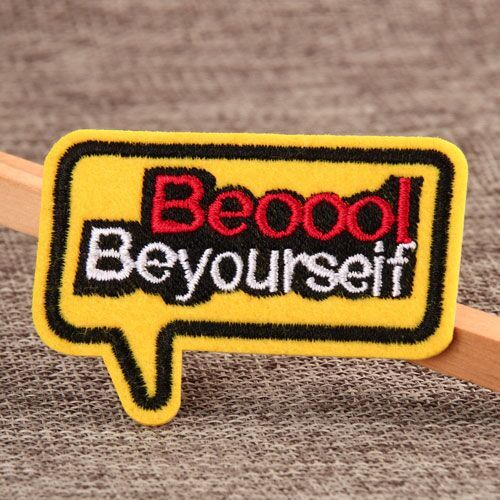 Be Yourself Custom Patches