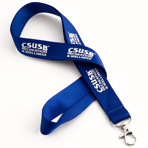 CSUSB Blue Lanyards