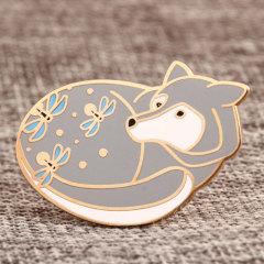 Grey Fox Custom Pins