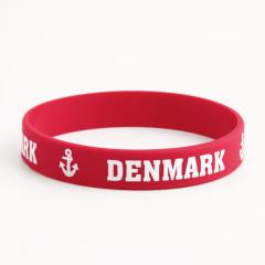 Denmark silicone wristbands