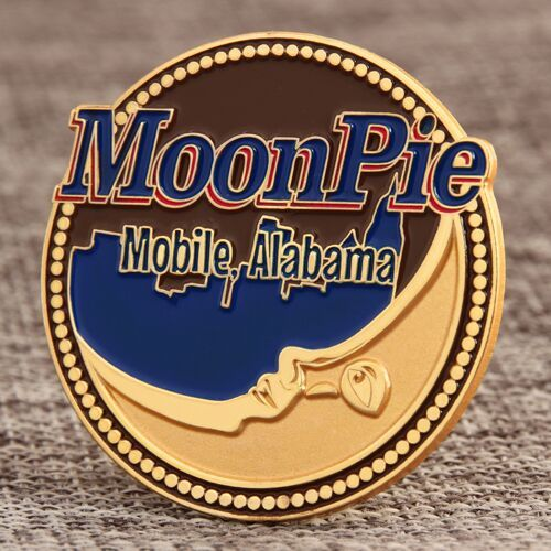 Custom Moonpie Lapel Pins