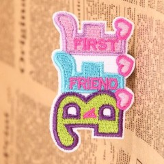 First Friend Custom Patches