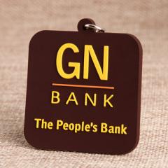 GN Bank PVC Keychain