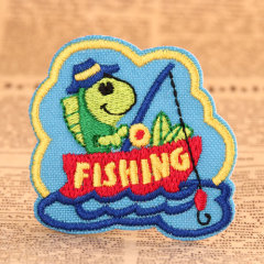 Fishing Custom Embroidered Patches