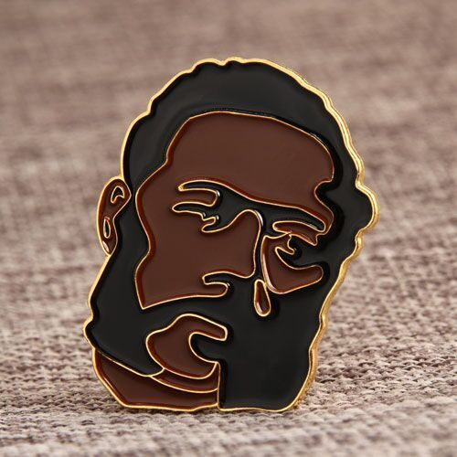 Serious Man Lapel Pins