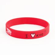 I LOVE KVO Wristbands