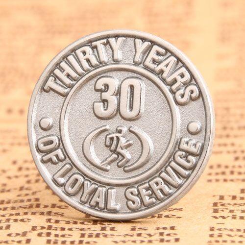 Custom service pins