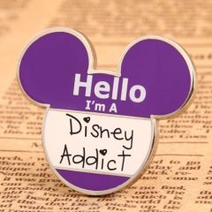 Disney Addict Lapel Pins