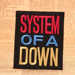 System of A Down Custom Patches online