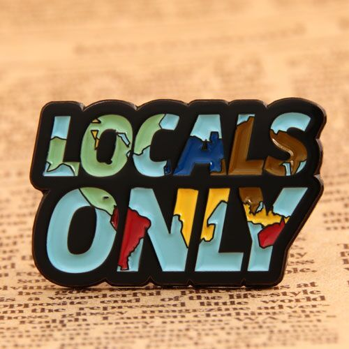 Locals Only Lapel Pins