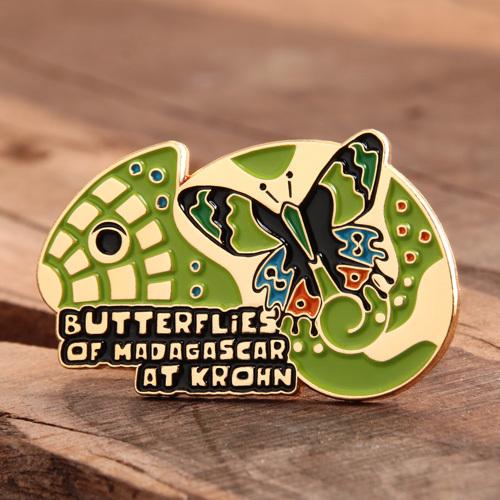 Custom Butterflies Pins
