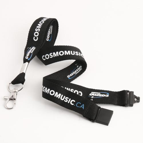 Cosmo Music Black Lanyards