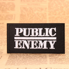 Public Enemy Custom Patches