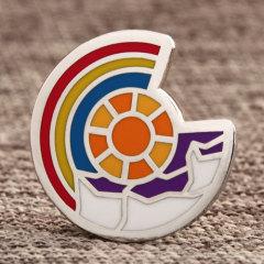 Custom Abstract Shield Pins