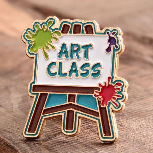 Art Class Custom Pins