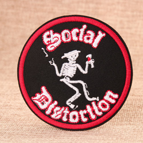 Social  Custom Made Patches