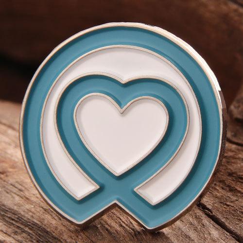 Custom Heart Pins