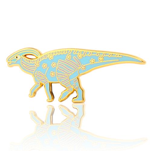 Parasaurolophus Dinosaur Pins