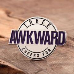 Custom Awkward Enamel Pins
