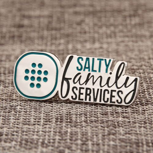 Salty Family Lapel Pins