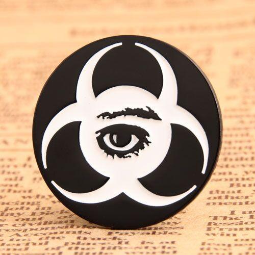 Pesonalized Eye Custom Lapel Pins
