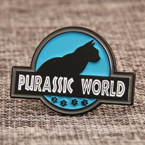 Custom Purassic World Enamel Pins