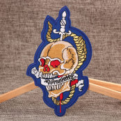 Fashion Skull Custom Patches