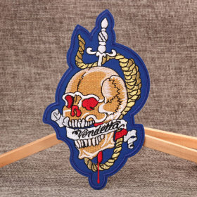 Fashion Skull Custom Patches